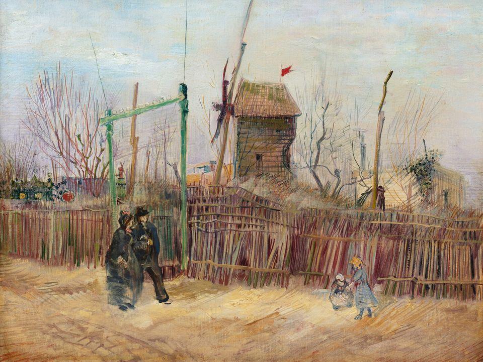 Vincent van Gogh's Scène de rue à Montmartre Sotheby's London, March 2021